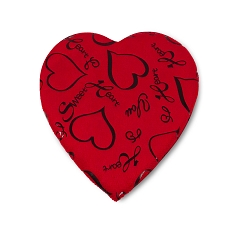 Heart Shaped Candy Box, Sweet Love Pillow, 8 oz., QTY/CASE-12