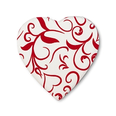 Heart Shaped Candy Box, Georgianna, 8 oz., QTY/CASE-12