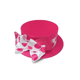 Rigid Set-up Box, Hat Box, Pink Delight, Large, QTY/CASE-12