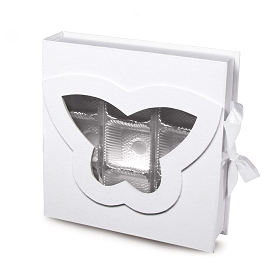 Rigid Set-up Box, Butterfly Open Book Box, QTY/CASE-12