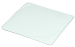 Tray Guard, Square, Clear, 3 oz., Single Cavity, 3-1/2 x 3-1/2