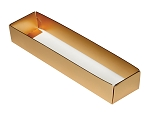 Folding Carton, 5-Piece Base, Standard, Metallic Gold, QTY/CASE-50