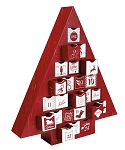 Rigid Set-up Box, Advent Calendar Tree Box, QTY/CASE-6