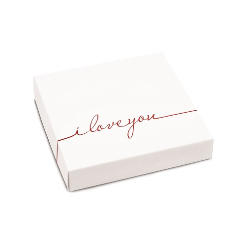 BY THE PIECE, I Love You, Decorative Gift Box, 5-1/2 x 5-1/2 x 1-1/8