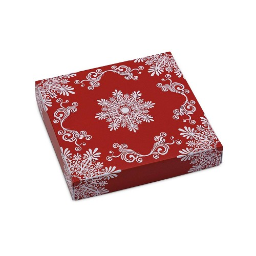 BY THE PIECE, Frost, Decorative Gift Box, 5-1/2 x 5-1/2 x 1