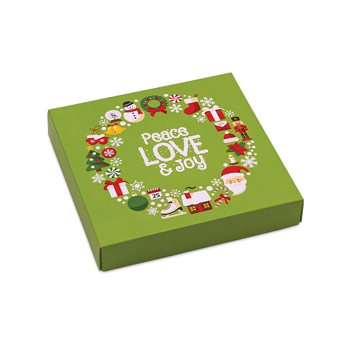 BY THE PIECE, Peace, Decorative Gift Box, 5-1/2 x 5-1/2 x 1-1/8