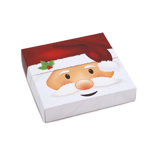 Jolly Santa, Decorative Gift Box, 5-1/2 x 5-1/2 x 1