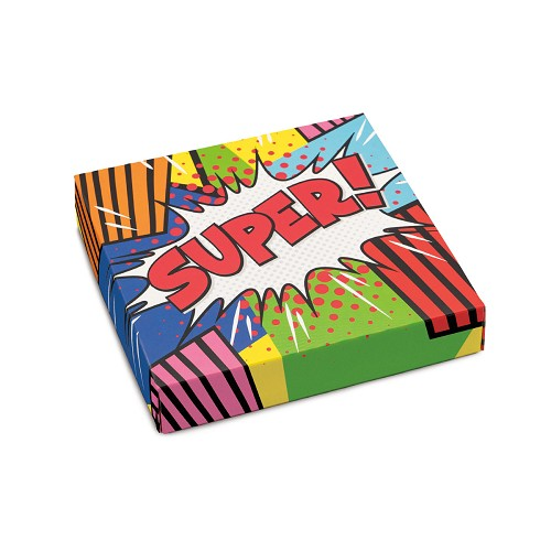 BY THE PIECE, Super, Decorative Gift Box, 5-1/2 x 5-1/2 x 1-1/8