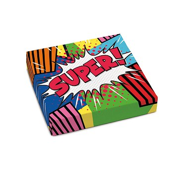 Super, Decorative Gift Box, 5-1/2 x 5-1/2 x 1-1/8""