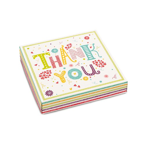 Thank You, Decorative Gift Box, 5-1/2 x 5-1/2 x 1