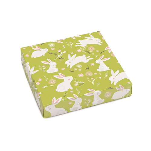 Hoppy Easter, Decorative Gift Box, 5-1/2 x 5-1/2 x 1