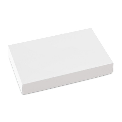 This Top - That Bottom, Lid, Rectangle, White, 7 x 4-1/2 x 1