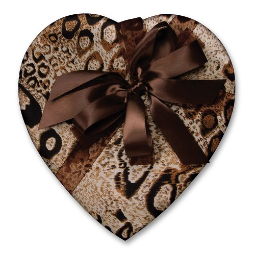Heart Shaped Candy Box, Wild, 1 lb., QTY/CASE-6