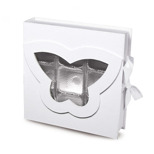 BY THE PIECE, Rigid Set-up Box, Butterfly Open Book Box