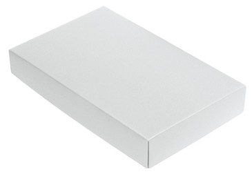 BY THE PIECE, Folding Carton, This Top - That Bottom Lid, 8 oz., Rectangle, White