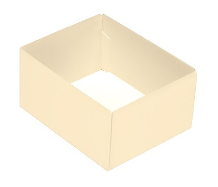 This Top - That Bottom, Base, Rectangle, Pearlescent, Double-Layer, 4-1/2 x 3-3/4 x 2-1/4