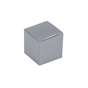 BY THE PIECE, Folding Carton, Anytime Favor Box, 1-Piece, Sterling Silver