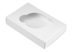 "BY THE PIECE, CLOSEOUT Folding Carton, Cupcake Insert, 1-Piece, White, 3-1/2"" L x 1"" W x 5-5/16"" D"