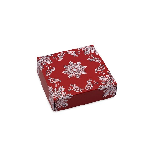 BY THE PIECE, Frost, Decorative Gift Box, 3-1/2 x 3-1/2 x 1