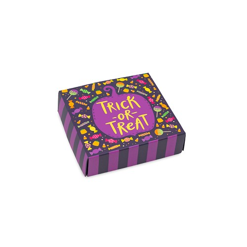 BY THE PIECE, Halloween Treats, Decorative Gift Box, 3-1/2 x 3-1/2 x 1