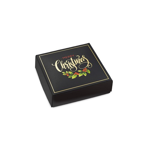 BY THE PIECE, Merry Christmas, Decorative Gift Box, 3-1/2 x 3-1/2 x 1-1/8