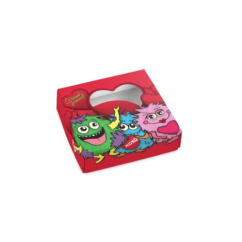BY THE PIECE, Monster, Decorative Gift Box, 3-1/2 x 3-1/2 x 1-1/8