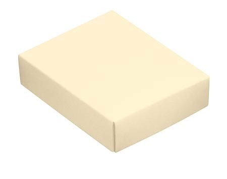 This Top - That Bottom, Lid, Rectangle, Cream, 4-1/2 x 3-3/4 x 1