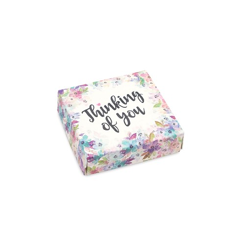 BY THE PIECE, Thinking of You, Decorative Gift Box, 3-1/2 x 3-1/2 x 1-1/8