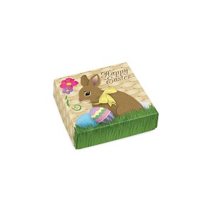 BY THE PIECE, Folding Carton, Lid, 3 oz., Petite, Square, Miss Bunnykins