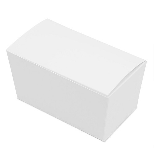 BY THE PIECE, Ballotin Box, White, 6-3/4 x 3-3/4 x 3-1/2
