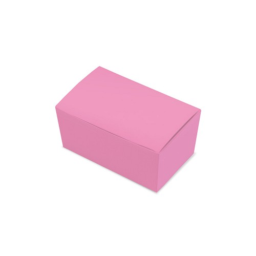 BY THE PIECE, Ballotin Box, Pink, 4-1/4 x 2-1/2 x 2