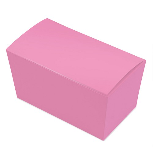 BY THE PIECE, Ballotin Box, Pink, 6-3/4 x 3-3/4 x 3-1/2