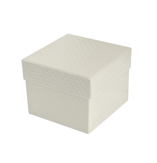 Rigid Set-up Box, Cube, 2-Tier, Petite, Pearlescent, QTY/CASE-24