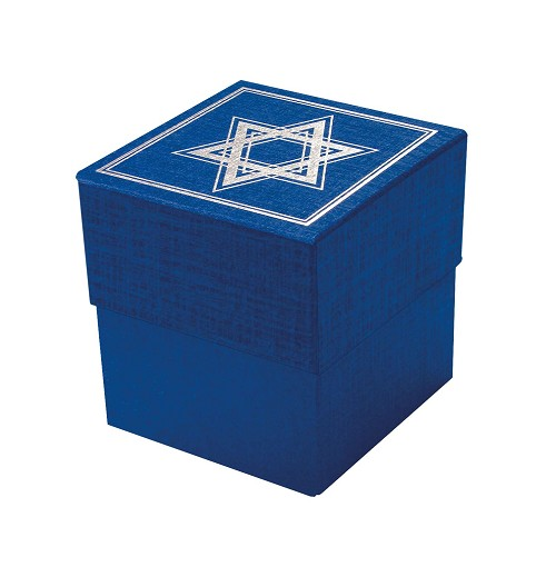 Rigid Set-up Box, Cube, Petite, 3-Tier, Petite, Star of David, QTY/CASE-24