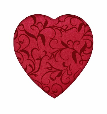 Heart Box, Passion Ivy, 8 oz., QTY/CASE-12