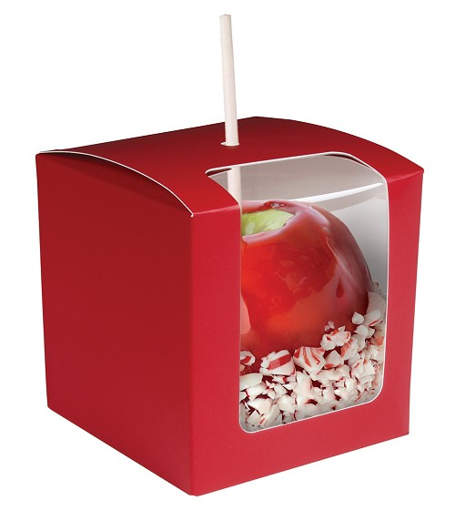 Apple Box, Red, 4 x 4 x 4