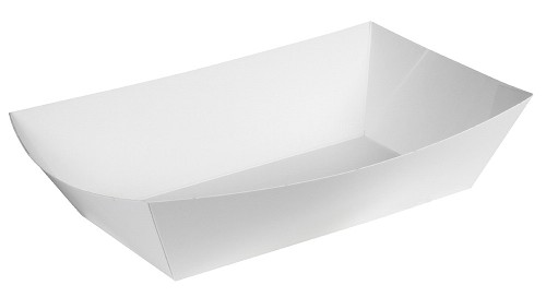 BY THE PIECE, Food tray, White, 9-1/2 x 6-1/2 x 2