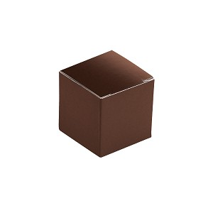BY THE PIECE, Folding Carton, Anytime Favor Box, 1-Piece, Chocolate
