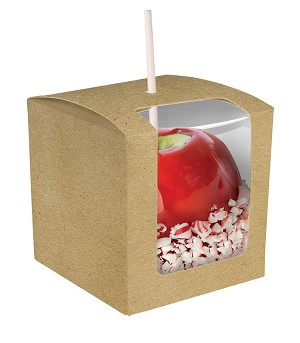 BY THE PIECE, Folding Carton, Apple Box, Kraft
