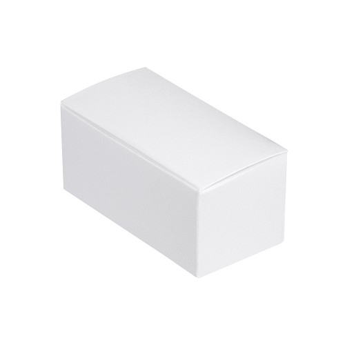 Anytime Favor Box, 2-Piece, White, 2-3/4 x 1 x 1-1/4