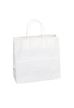 "Kraft Bag, White, 10"" x 5"" x 10"", QTY/CASE-250"