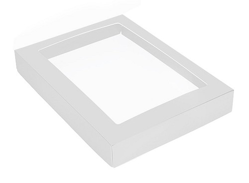 This Top - That Bottom, Window Lid, Rectangle, White, 9-1/2 x 6 x 1