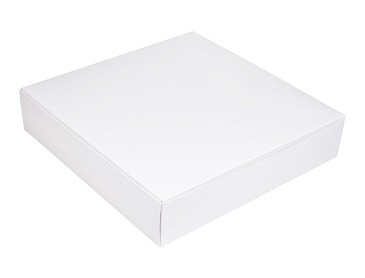 Folding Carton, Outer Carton, 16 oz., Square, White, QTY/CASE-50