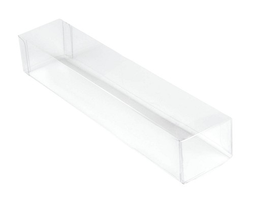 Clear Plastic Packaging, Rectangle, 6-1/4 x 1 x 1-1/4