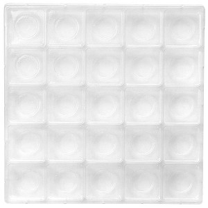 BY THE PIECE, ADD-ON, Tray, Advent Calendar Tray, 25 Cavity, Clear