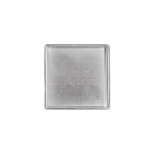 Tray, Square, Silver, 3 oz., Single Cavity, QTY/CASE-50