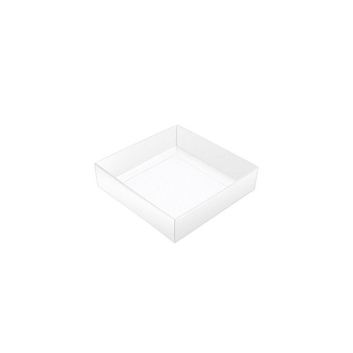 This Top - That Bottom, Base, White, Single-Layer, 3-1/2 x 3-1/2 x 1